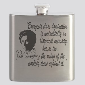 Rosa Luxemburg With Quote Flask