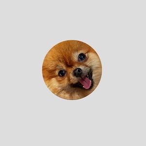 Happy Pomeranian Mini Button
