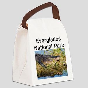 Everglades National Park Canvas Lunch Bag