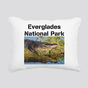 Everglades National Park Rectangular Canvas Pillow
