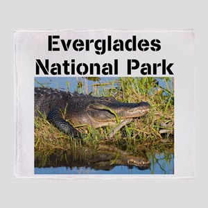 Everglades National Park Throw Blanket