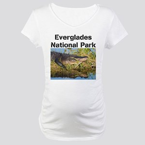 Everglades National Park Maternity T-Shirt