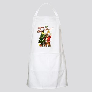 Merry Chris-Moose! Apron