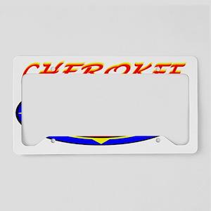 CHEROKEE WATER SPIDER License Plate Holder