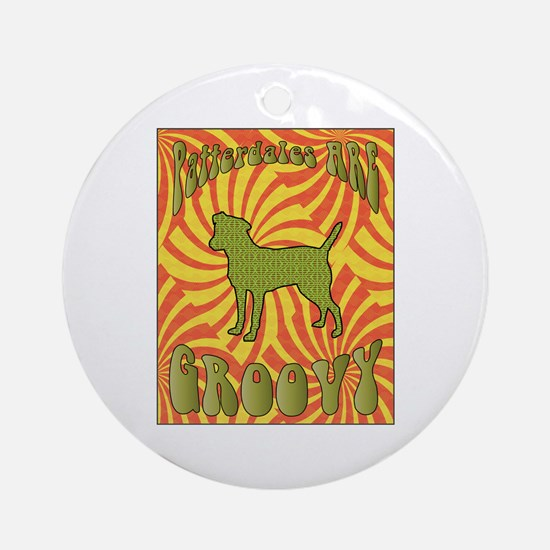 Groovy Patterdale Ornament (Round)