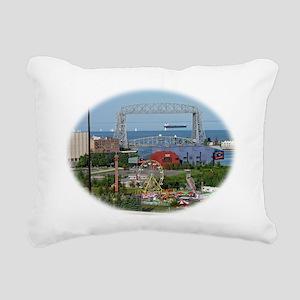 The Duluth Aerial Lift B Rectangular Canvas Pillow