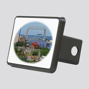 The Duluth Aerial Lift Bri Rectangular Hitch Cover