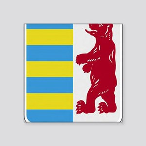 "Rusyn Emblem large Square Sticker 3"" x 3"""