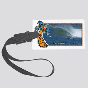 Costa Rica Surf Large Luggage Tag