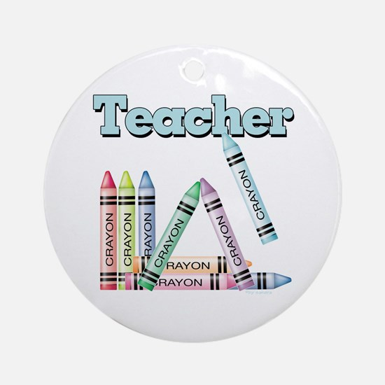 Teacher! Ornament (Round)