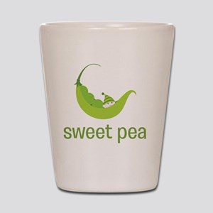 Sweet Pea Shot Glass
