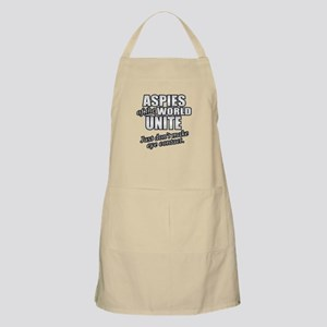 Aspies Unite Light Apron