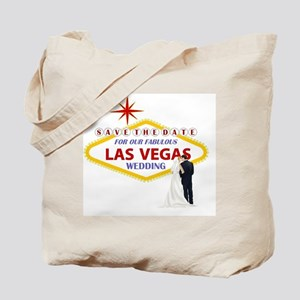 Save the Date For Our Las Vegas Wedding C Tote Bag