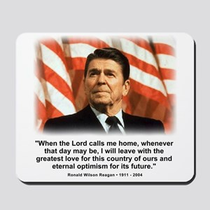 Ronald Reagan: When the Lord Mousepad