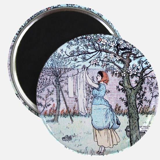Mothers day Vintage Laundry Magnet