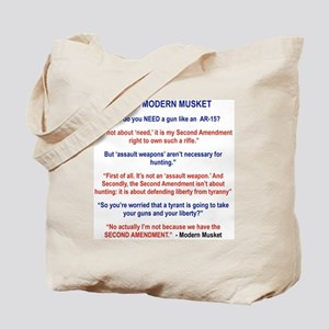 THE MODERN MUSKET Tote Bag