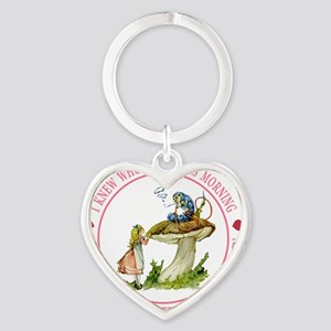 alice _Ive changed several times_PI Heart Keychain