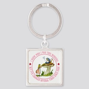 alice _Ive changed several times_P Square Keychain