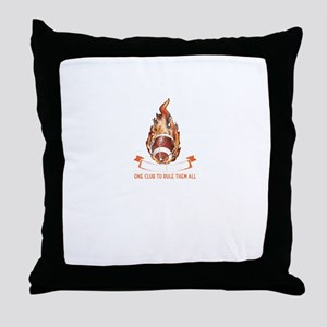 Mordor United One Club To Rule Them A Throw Pillow