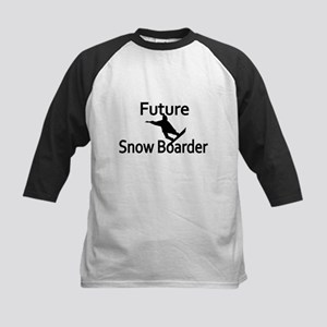 Future Snow Boarder Baseball Jersey
