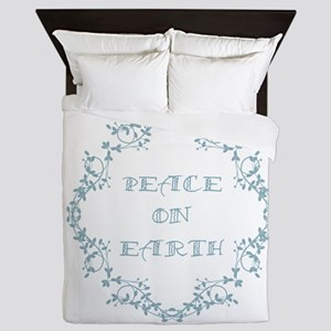 Peace on Earth Queen Duvet