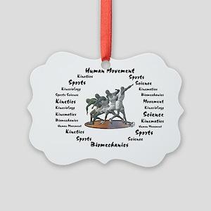 Sports Science Logo Picture Ornament