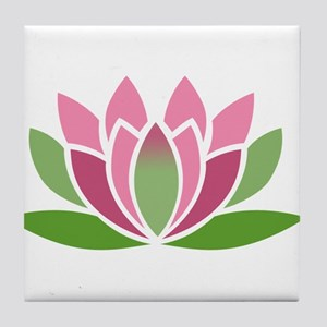 Lotus Blossom Tile Coaster