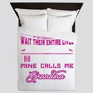 Grandma Football Player Queen Duvet