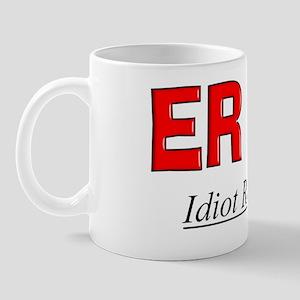 ER doc flask Mug