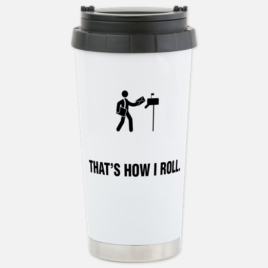 Mailman-ABG1 Stainless Steel Travel Mug