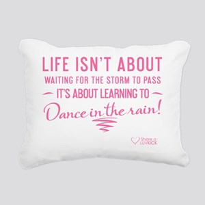 tshirt pink transparent  Rectangular Canvas Pillow