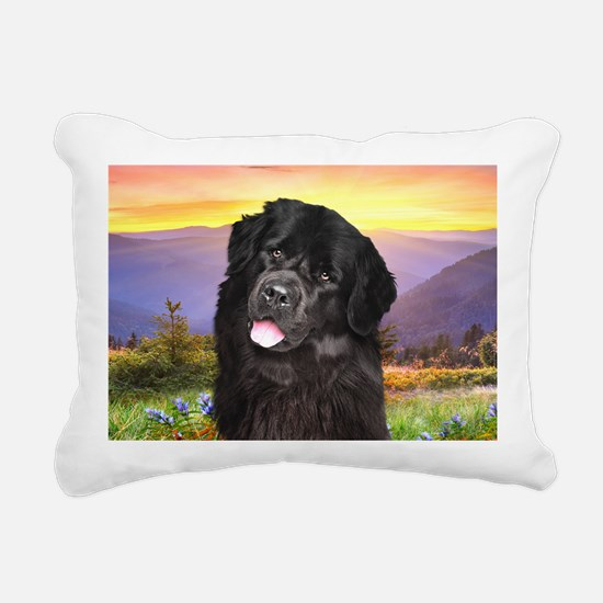 meadow(laptop) Rectangular Canvas Pillow