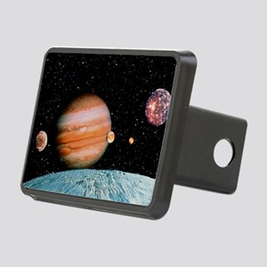 Jupiter and the Galilean m Rectangular Hitch Cover