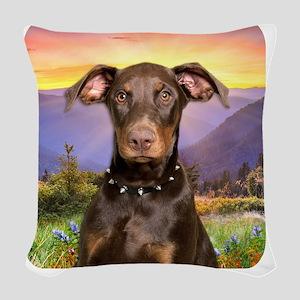 meadow Woven Throw Pillow