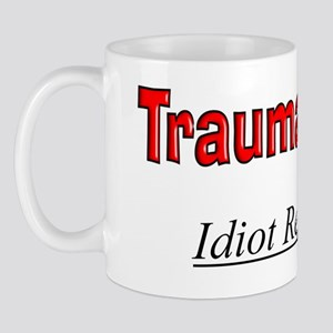 Trauma nurse flask 2 Mug
