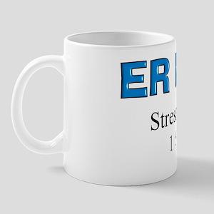 ER Nurse Flask Mug
