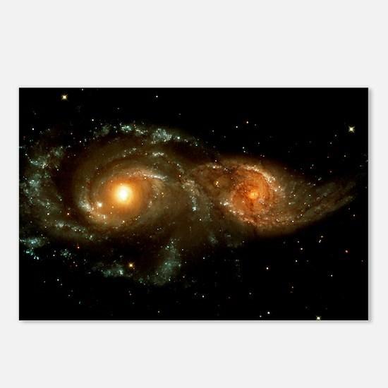 Interacting galaxies Postcards (Package of 8)