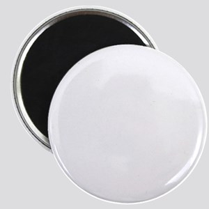 Hearing Protection with Text White Magnet