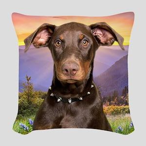 meadow(blanket) Woven Throw Pillow