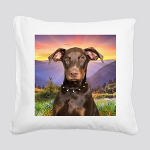 meadow(blanket) Square Canvas Pillow