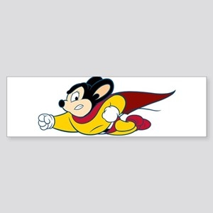Mighty Mouse Bumper Sticker