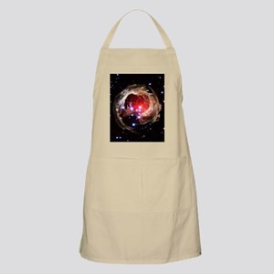 Light echoes from exploding star Apron