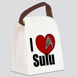 I Love Sulu Canvas Lunch Bag
