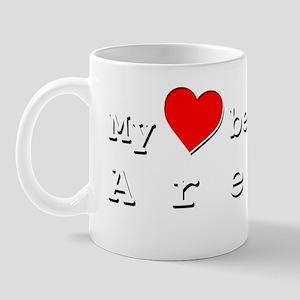 My Heart Belongs To Aretha Mug