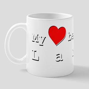 My Heart Belongs To Larry Mug