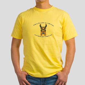 Angry Peruvian DJ Yellow T-Shirt