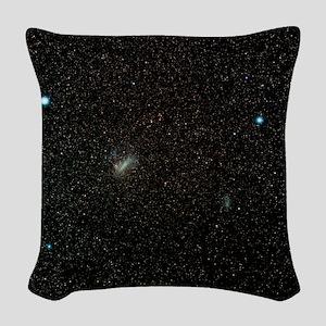 Magellanic Clouds Woven Throw Pillow