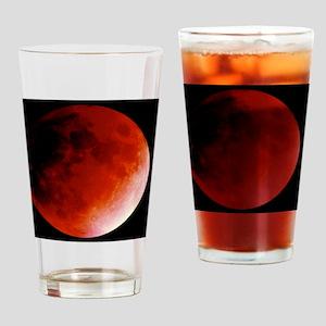 Lunar eclipse Drinking Glass