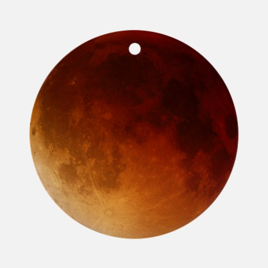 Lunar eclipse, 28/08/2007 Round Ornament