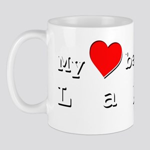 My Heart Belongs To Layla Mug